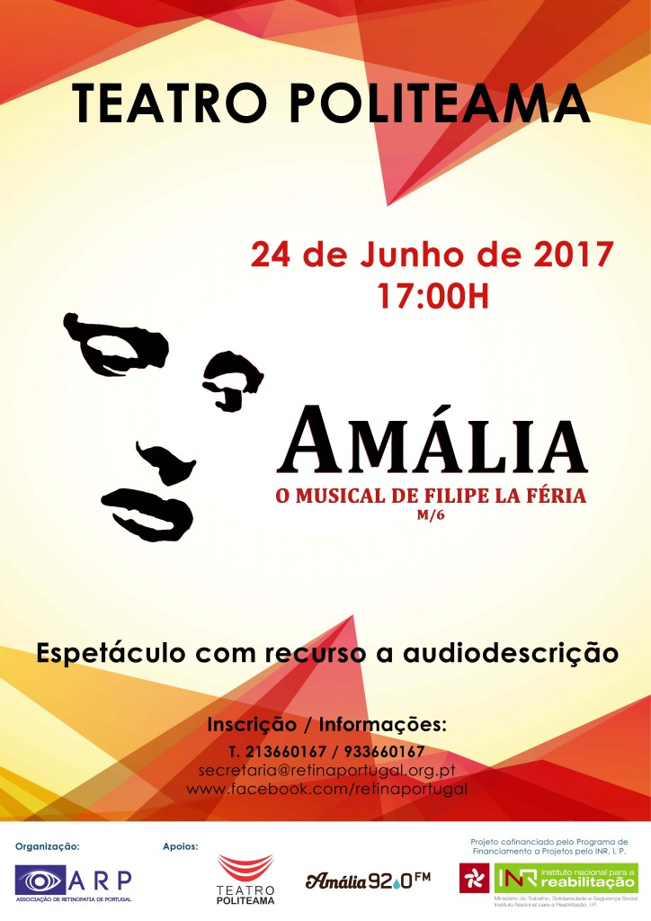 cartaz musical amalia